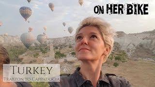 Скачать Turkey Trabzon To Cappadocia On Her Bike Around The World Episode 16