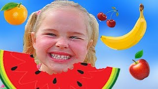 Johny Johny Yes Papa fruit version +More Nursery Rhymes & Kids Songs   Sweet Emily