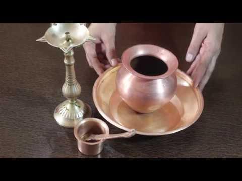 !! नया तरीका तांबे पीतल के बर्तन साफ करना !! New Way To Clean Copper Brassware !! HINDI !!