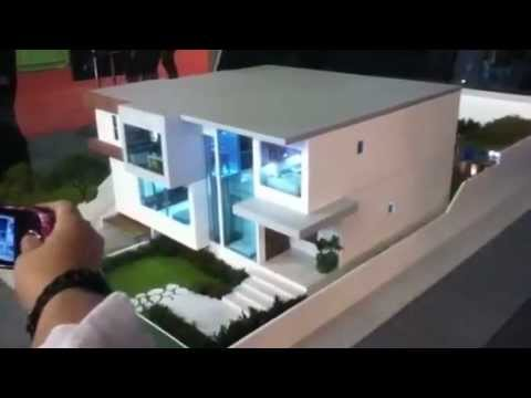 Maqueta automatizada youtube - Maqueta casa up ...