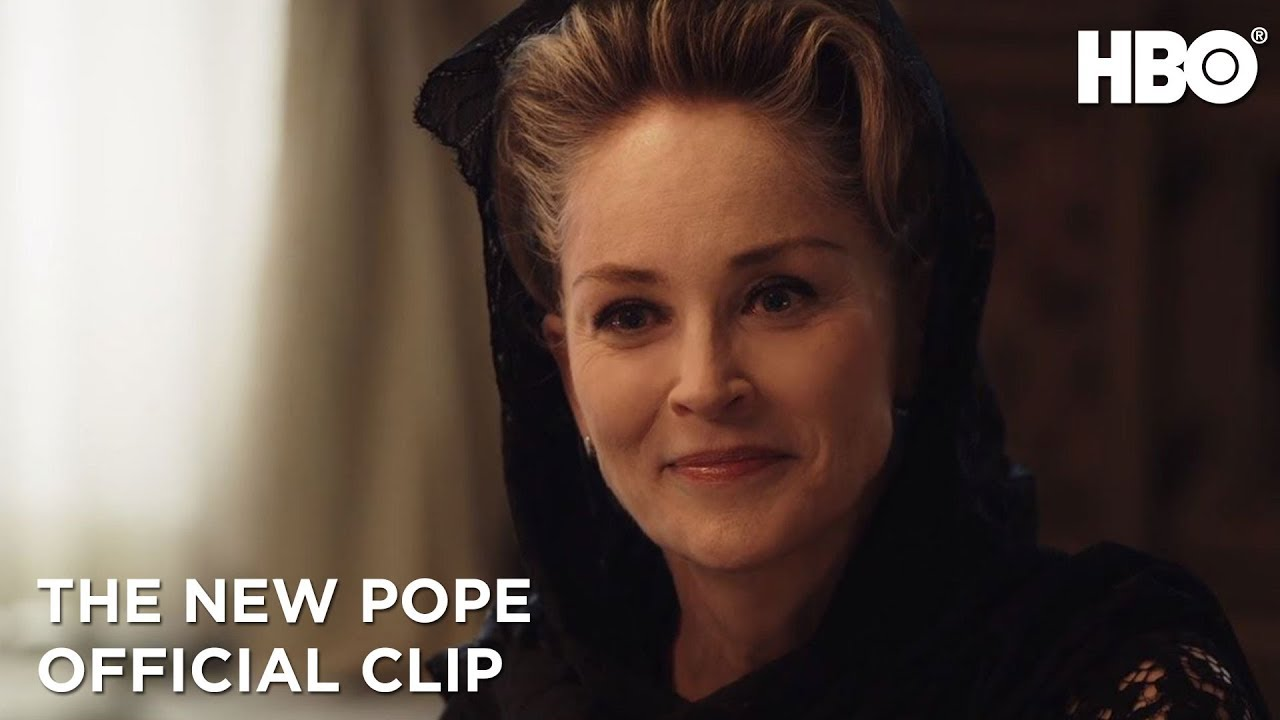 Download The New Pope: Sharon Stone Pays a Visit (Season 1 Episode 5 Clip)   HBO