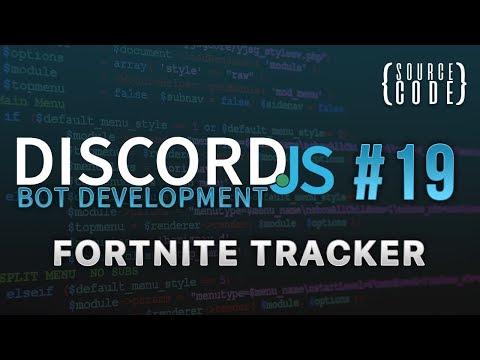 Discord.js Bot Development - Fortnite Tracker - Episode 19