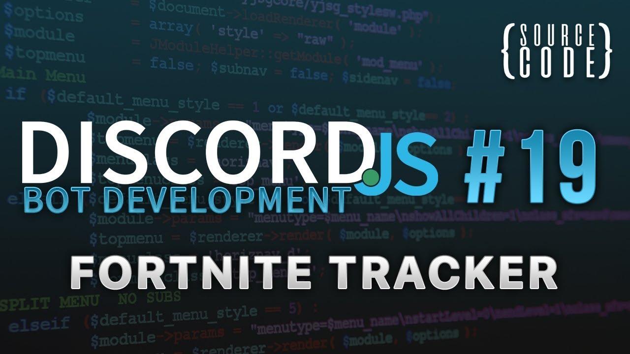 Discord js Bot Development - Fortnite Tracker - Episode 19