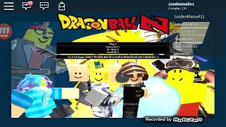 Dragon Ball z dans ROBLOX avec pierre917