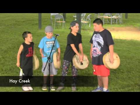 2015 Youth Hand Drum Contest at Honor The Earth Pow-wow
