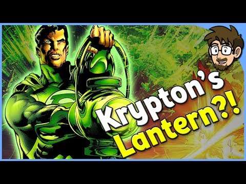 Where Was Krypton's Green Lantern When it Exploded?