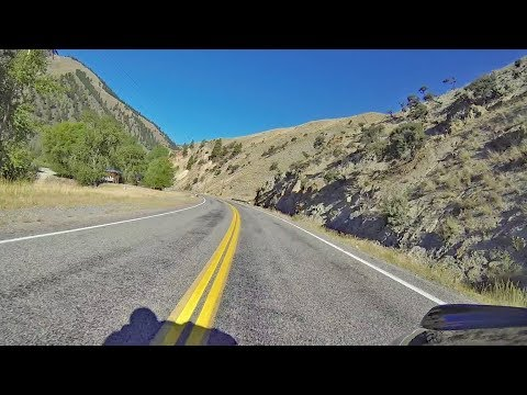 Idahos Salmon River Scenic Byway Motorcycle Ride: Part 3, Salmon to Lost Trail Pass