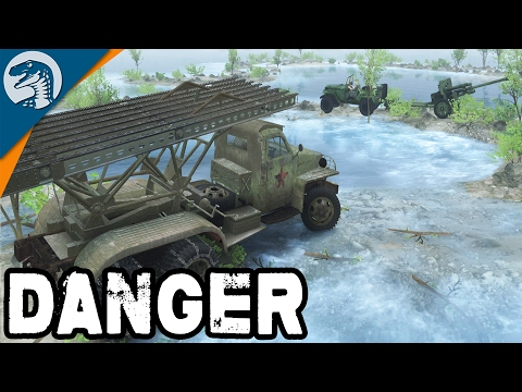 INSANE WWII RUSSIAN ROCKET LAUNCHER | Spin Tires Multiplayer Gameplay