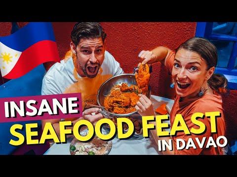 MINDBLOWING FILIPINO SEAFOOD In Davao City FILIPINO FOOD Vlog