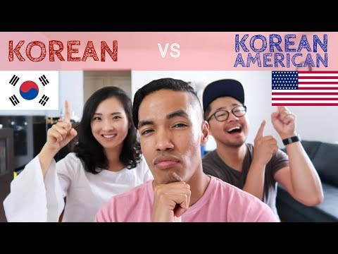 Differences between Korean & Korean-American Culture | A Couple