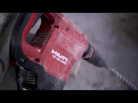 Hilti TE 50 - AVR – Aplicaciones en construcción