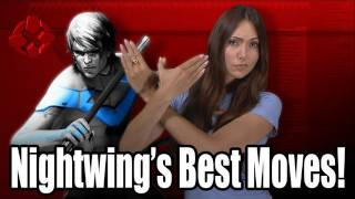 Arkham City: Nightwing's Best Moves [IGN_Strategize]