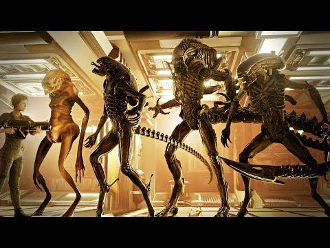 EVOLUTION of ALIEN: XENOMORPH Size Comparison (1979-2019)