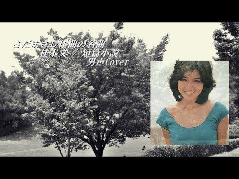 さだまさしさん作曲の名曲(男声注意!!) 70年代女性アイドル桂木文さんの「短篇小説」 cover