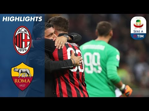AC Milan 2-1 Roma | Cutrone All