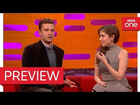 Anna Kendrick is a BIG FAN of Bake Off: The Graham Norton Show 2016 - BBC One