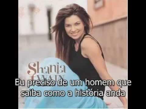 Shania Twain -  Any Man Of Mine Legendado
