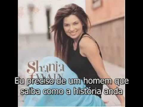 Shania Twain -  Any Man of Mine legendado