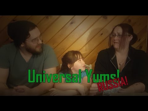 Universal Yums! Russia - October 2016 Box