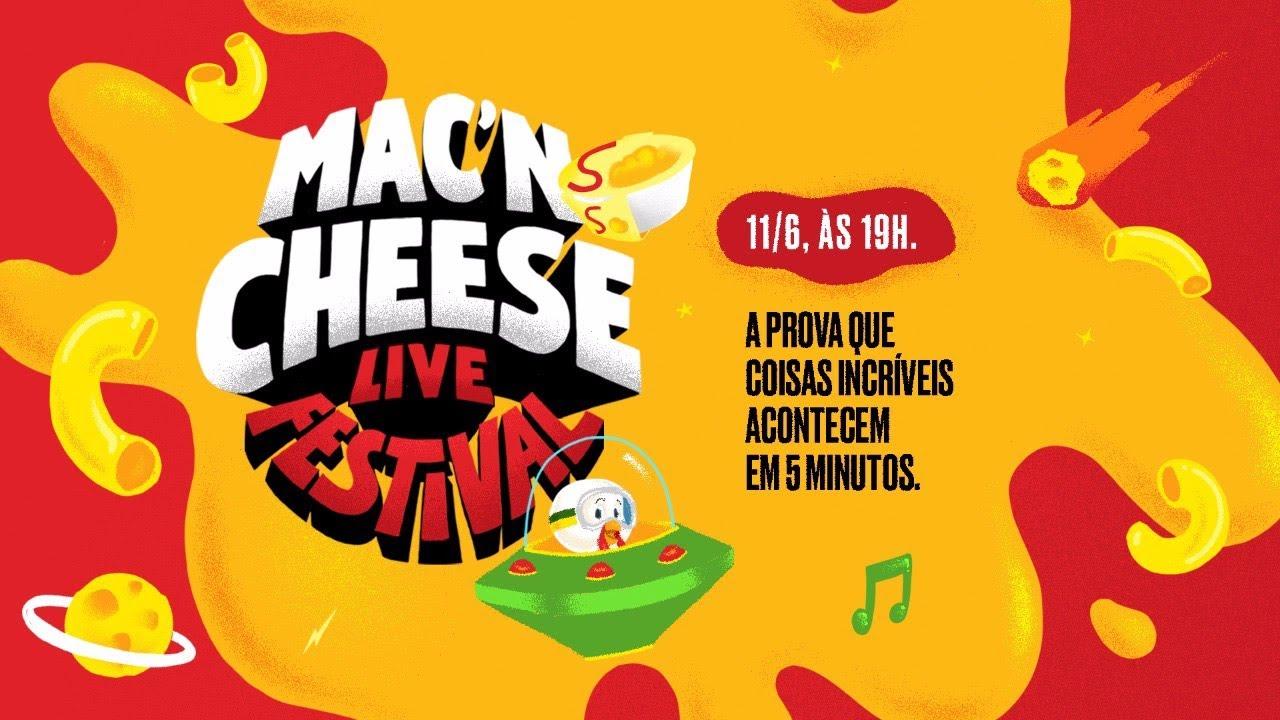 SADIA MAC'N CHEESE LIVE FESTIVAL COM WHINDERSSON NUNES