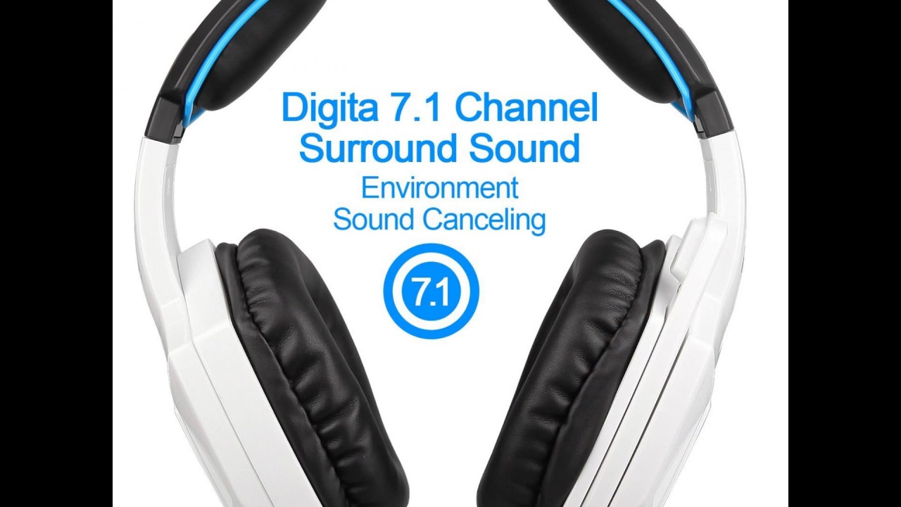 742a2965713 SADES Spirit Wolf 7.1 Surround Stereo Sound USB Computer Gaming Headset  with Microphone