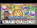 $19,000 300+ free games KONAMI MONSTER JACKPOT ! FULL ...