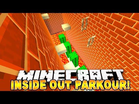 Minecraft - INSIDE OUT PARKOUR! - w/Preston & Nooch