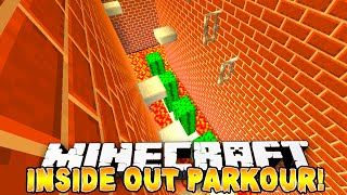 Minecraft - INSIDE OUT PARKOUR! - w/Preston & Nooch