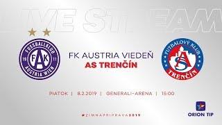 ASTV live: FK Austria Viedeň - AS Trenčín | Prípravný zápas - Generali - Arena