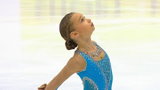Вероника Жилина Произвольная программа Кубок России 2020 21 Четвертый этап