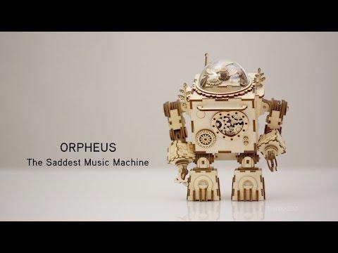 Regali per Ragazzi  0 Orpheus - Puzzle 3D Robotime