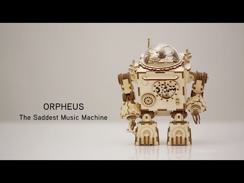 Orpheus - The Saddest Music Machine from ThinkGeek