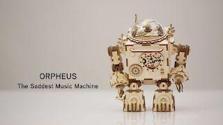 Orpheus - The Saddest Music Machine from ThinkGeek