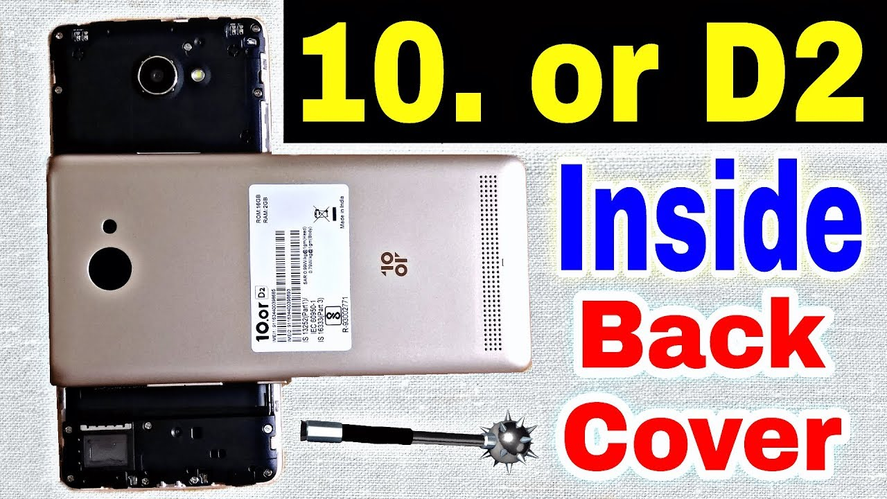 How to Open Back Panel 10 or D2   Remove Back Cover 10orD2   Inside Back  Cover 10 or D2   10 or D2
