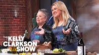 Kevin O'Leary Cooks A Meal 'Anybody In America Can Make In 8 Minutes' With Kathy Bates And Kelly
