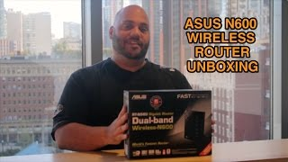 ASUS N600 Gigabit Router Unboxing & Overview