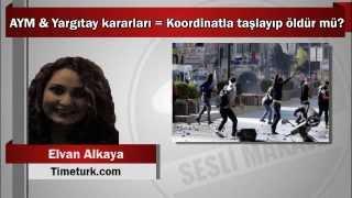 Elvan Alkaya : AYM & Yargıtay kararları = Koordinatla taşlayıp öldür mü?