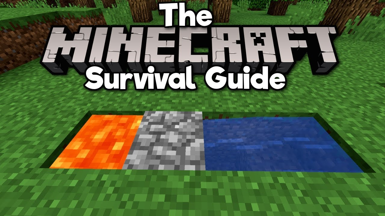 How to Build a Cobblestone Generator! ▫ The Minecraft Survival Guide  (Tutorial Lets Play) [Part 24]