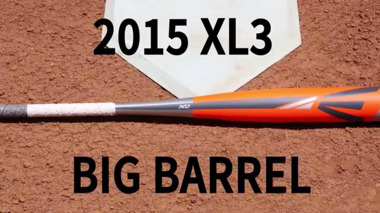 CheapBats com 2015 Easton XL3 Youth Big Barrel Baseball Bat SL15X3