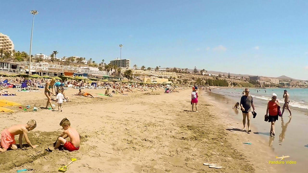 playa del ingles in gran canaria