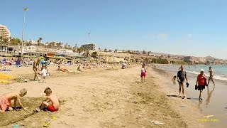 Gran Canaria 2015 Walk in Playa del Ingles beach, city, Yumbo and Cita