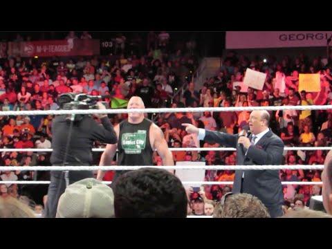 WWE RAW 7/13/15 ROW 5 (Atlanta, GA) | Brandon Hodge Vlog #11