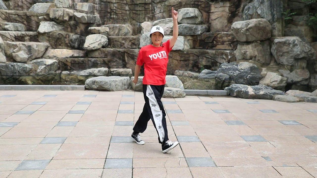 鬼步舞基礎教學《交叉奔跑》,老師一步一步教,零基礎也能跟著跳! 【艷子廣場鬼步舞】 - YouTube