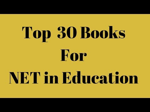 Top 30 Books For UGC NTA NET/JRF/SET In Education   Paper 2