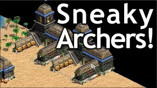 AoE2 Sneaky Archery Ranges!