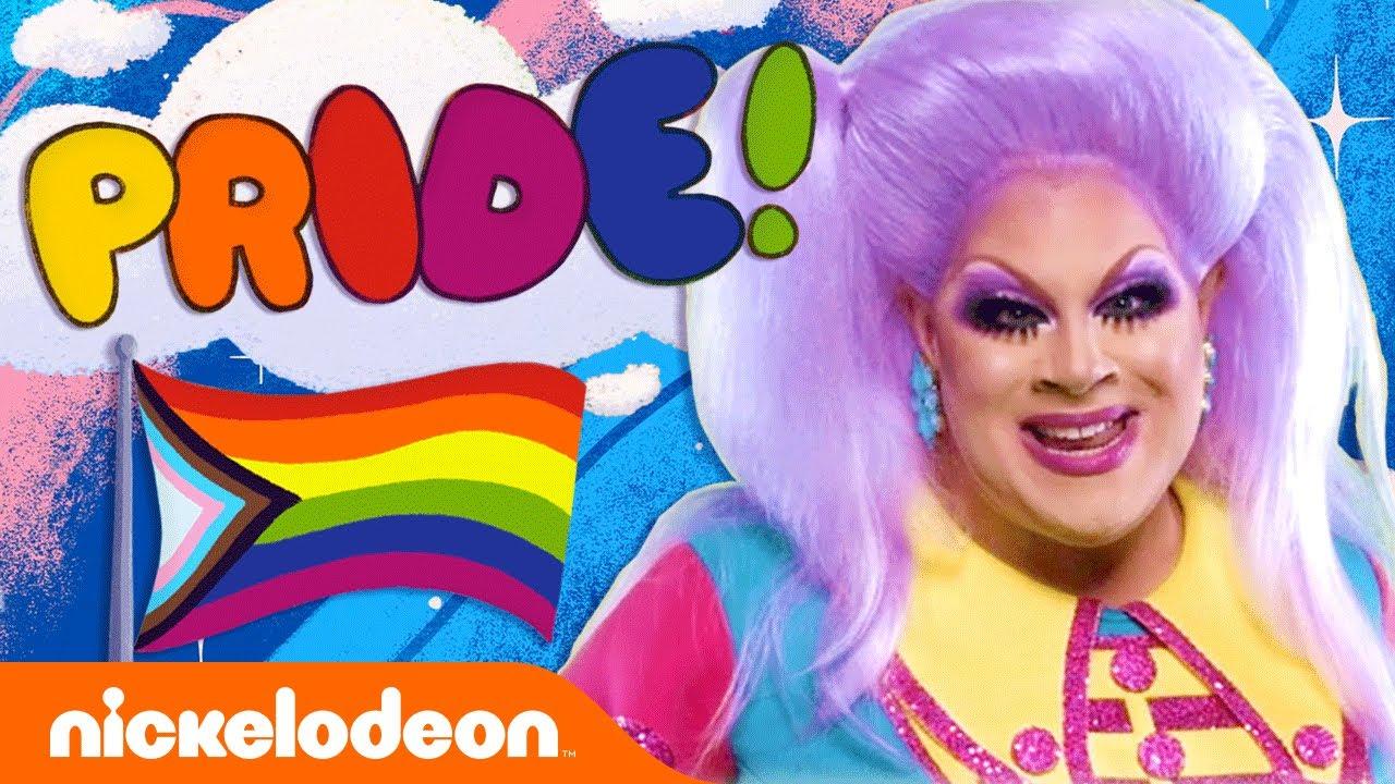 Nickelodeon Drag Queen Teaches Kids Gay Pride Song Sing-Along