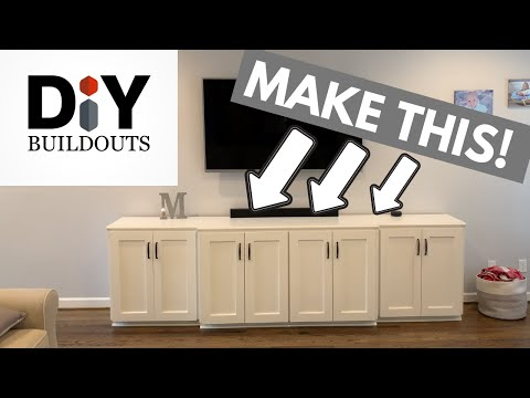 DIY Entertainment Center - DIY Buildouts Special Edition!