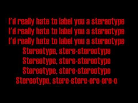 Chris Brown - Stereotype (Lyrics)