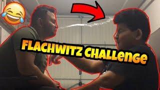 Krasse *FLACHWITZ CHALLENGE* mit Bruder!!! (mit Krasse *Bestrafung!*) | Can Wick