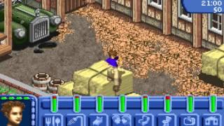 Los Sims Toman la Calle GBA|Ayudando al tio Paldulete en la Granja